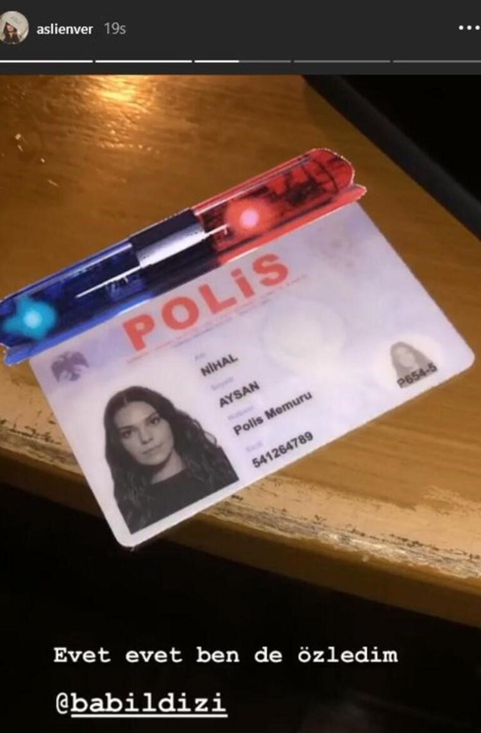 Aslı Enver dizide Ayşe olarak tanınan gizli görevdeki bir polis memurunu canlandırıyor