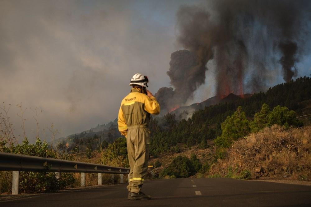 Kanarya Adaları'ndaki Cumbre Vieja yanardağı faaliyete geçti: 5 bin kişi tahliye ediliyor - 11
