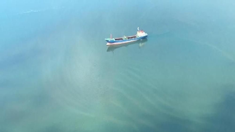 Denizi kirleten gemiye suçüstü - 4