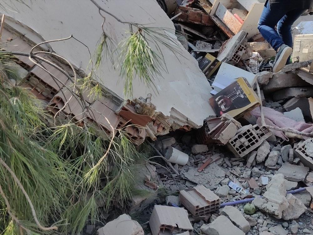 Son Deprem: İzmir'deki 6.6'lık depremden kareler - 6