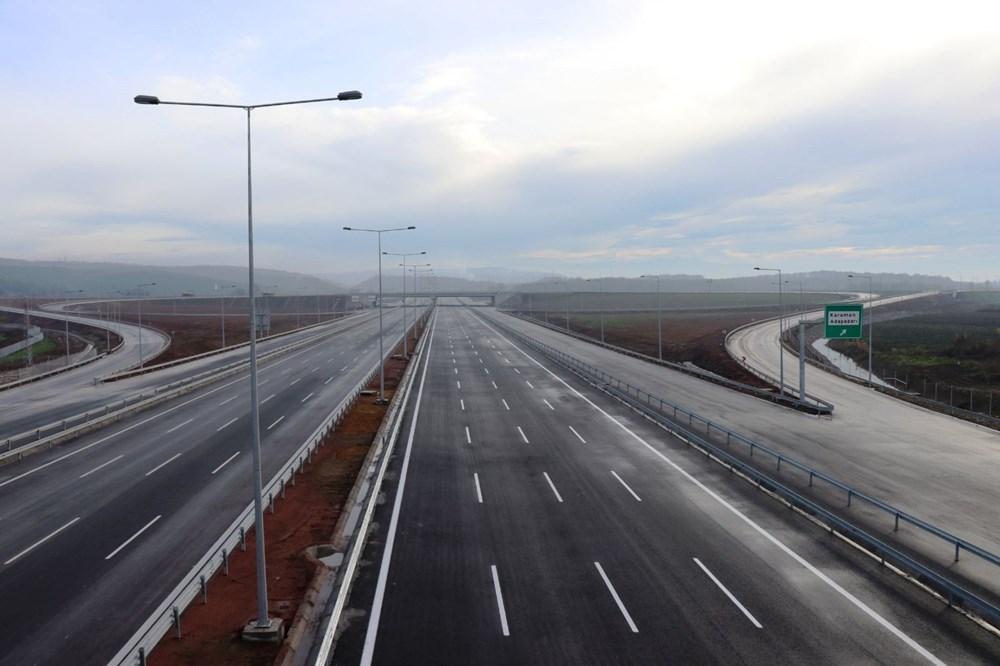 Kuzey Marmara Otoyolu'nun İzmit-Akyazı kesimi açılıyor - 5