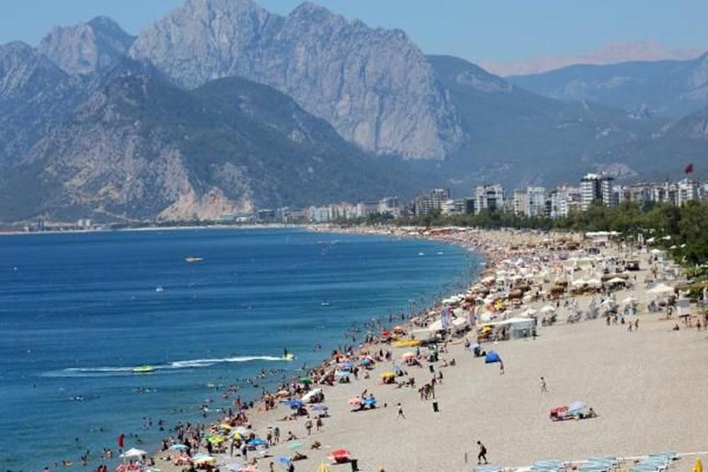 Antalya sahillere akın etti - 3