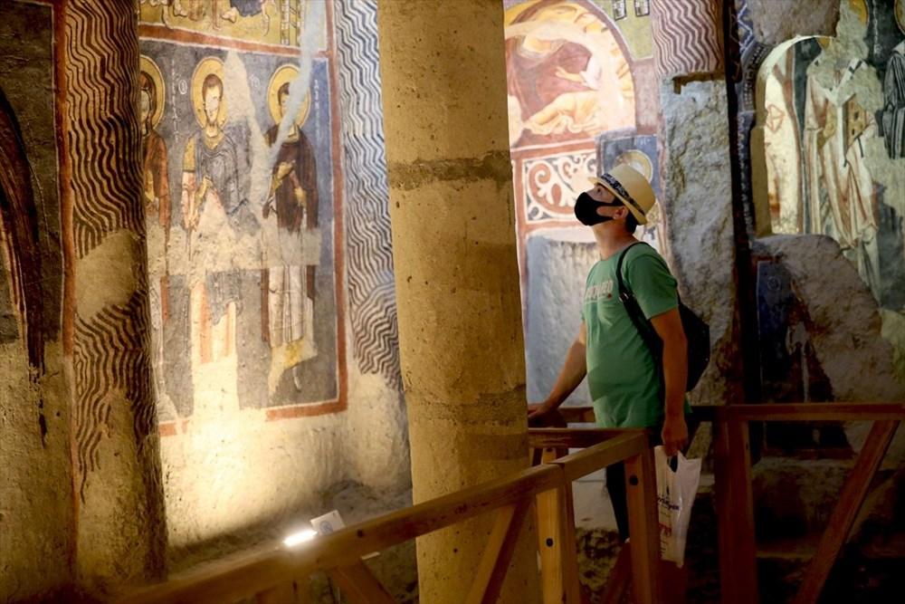 Karanlık Kilise'nin freskleri ile bin yıl öncesine yolculuk - 12