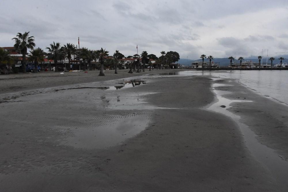 Muğla'da deniz suyu 40 metre çekildi - 9