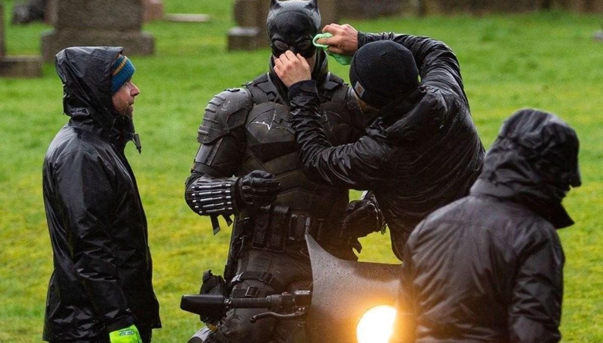 Robert Pattinson'lu The Batman yeniden sete çıkıyor