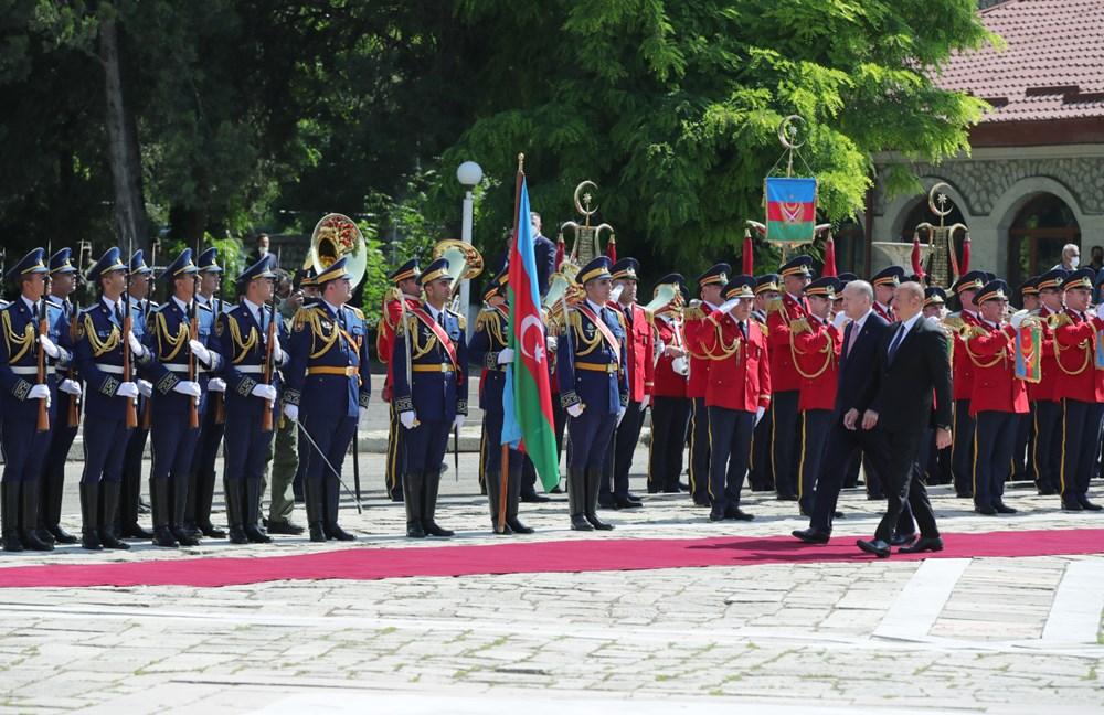 Cumhurbaşkanı Erdoğan ve Aliyev Şuşa Beyannamesi'ni imzaladı - 5