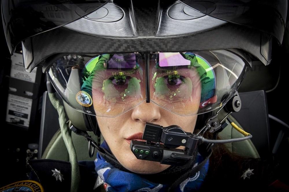 Türkiye'nin ilk kadın taarruz helikopter pilotu - 2