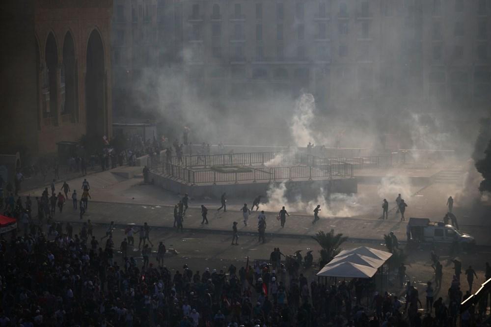 Lübnan'da hükümet karşıtı gösteri (Lübnan Başbakanı'ndan erken seçim açıklaması) - 2