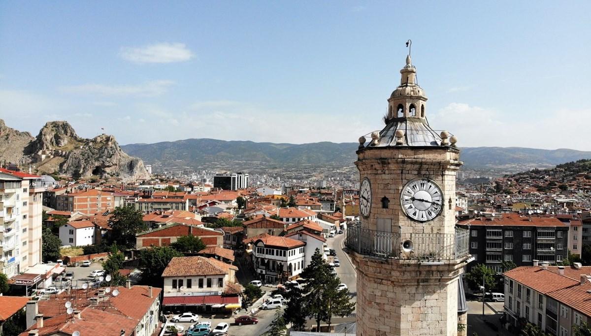 Tokat saat kulesi 119 yıldır zamana tanıklık ediyor