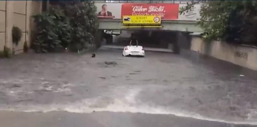İstanbul'da şiddetli yağmur - 8