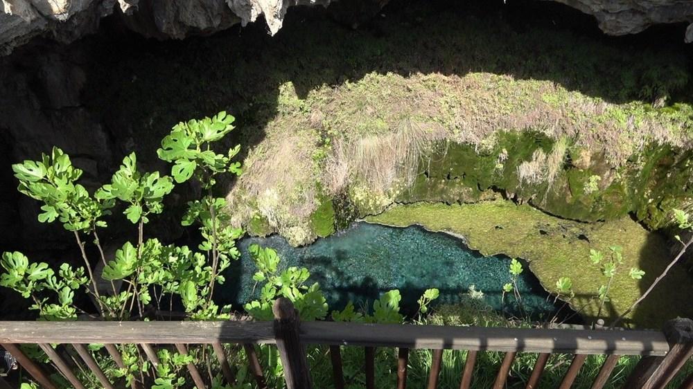 Denizli'de 2 milyon yıllık 'Yeraltındaki gizli Pamukkale' Kaklık Mağarası şifa dağıtıyor - 12