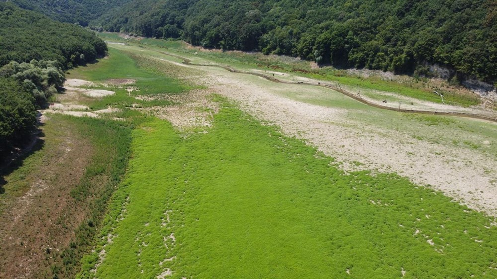 İstanbul'un su ihtiyacını karşılayan Trakya'daki barajlar kurudu - 11