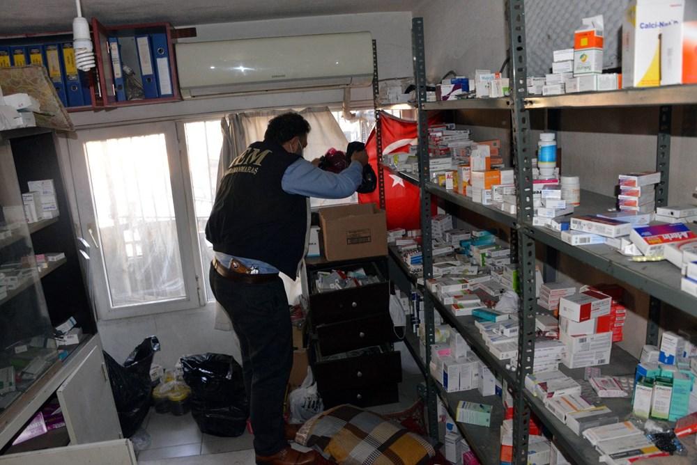 Suriyelilerin işlettiği 6 kaçak kliniğe polis baskını - 15