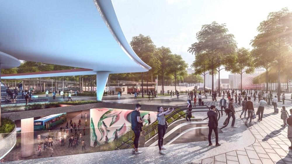Taksim Meydanı Tasarım Yarışması sonuçlandı (Taksim Meydanı böyle olacak) - 1