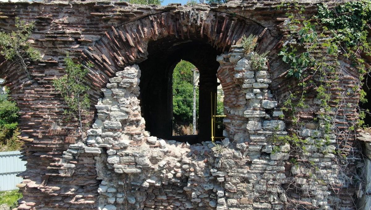 1610 yıllık Bukoleon Sarayı'nda restorasyon çalışmaları başlatıldı