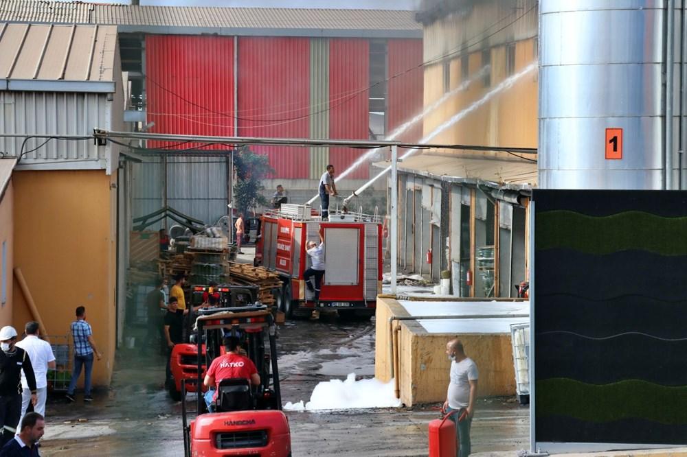 Osmaniye'de fabrika yangını - 4