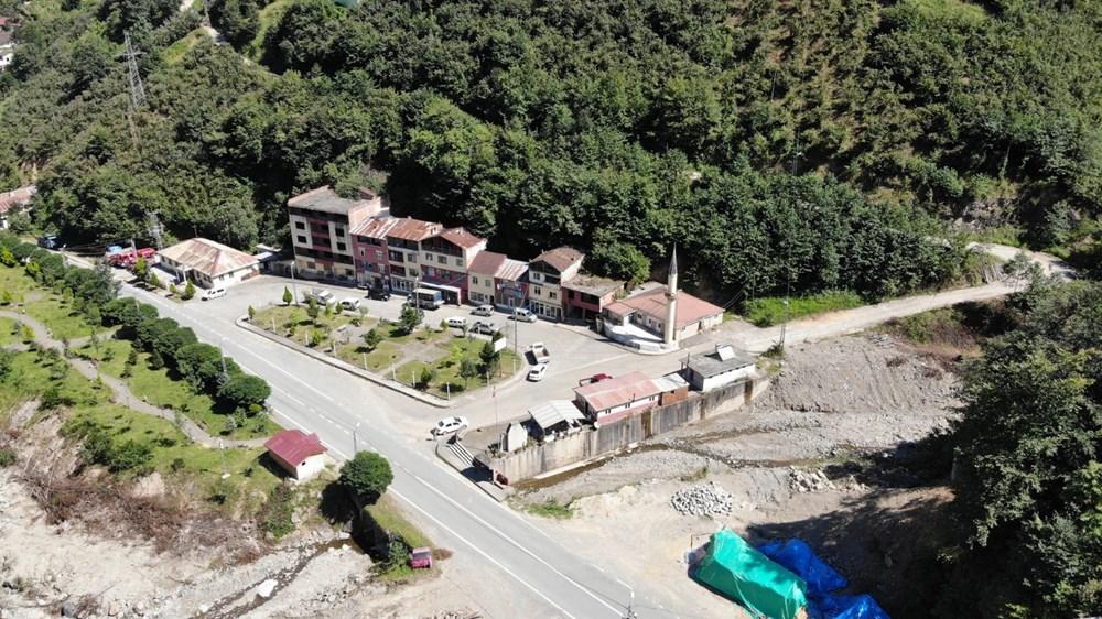 Trabzon'da tedirgin eden görüntü: Giresun'un Dereli ilçesi gibi sel riski taşıyor - 13