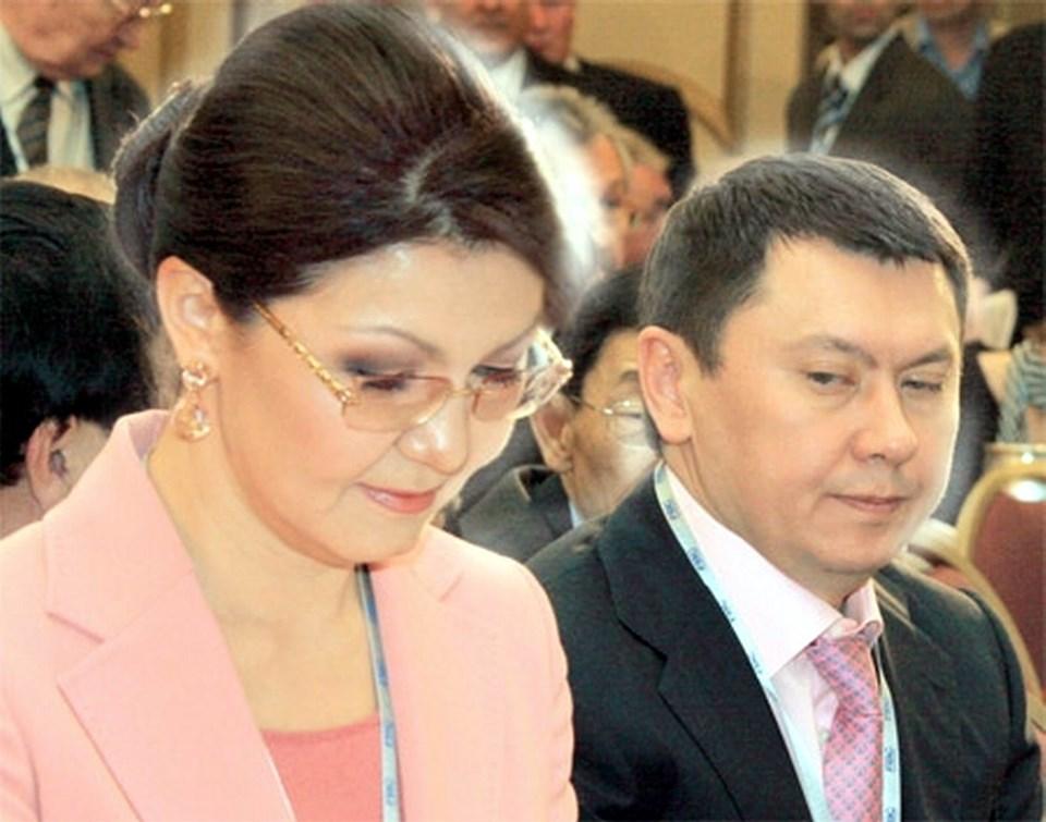 Nursultan Nazarbayev'in kızı Dariga Nazarbayeva ve eski eşi Rahat Aliyev