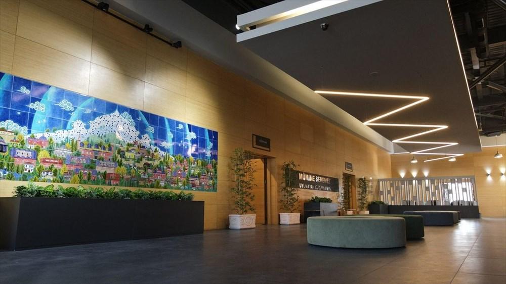 Bursa'da yapımı tamamlanan Mümine Şeremet Uyumayan Kütüphanesi açılıyor - 5