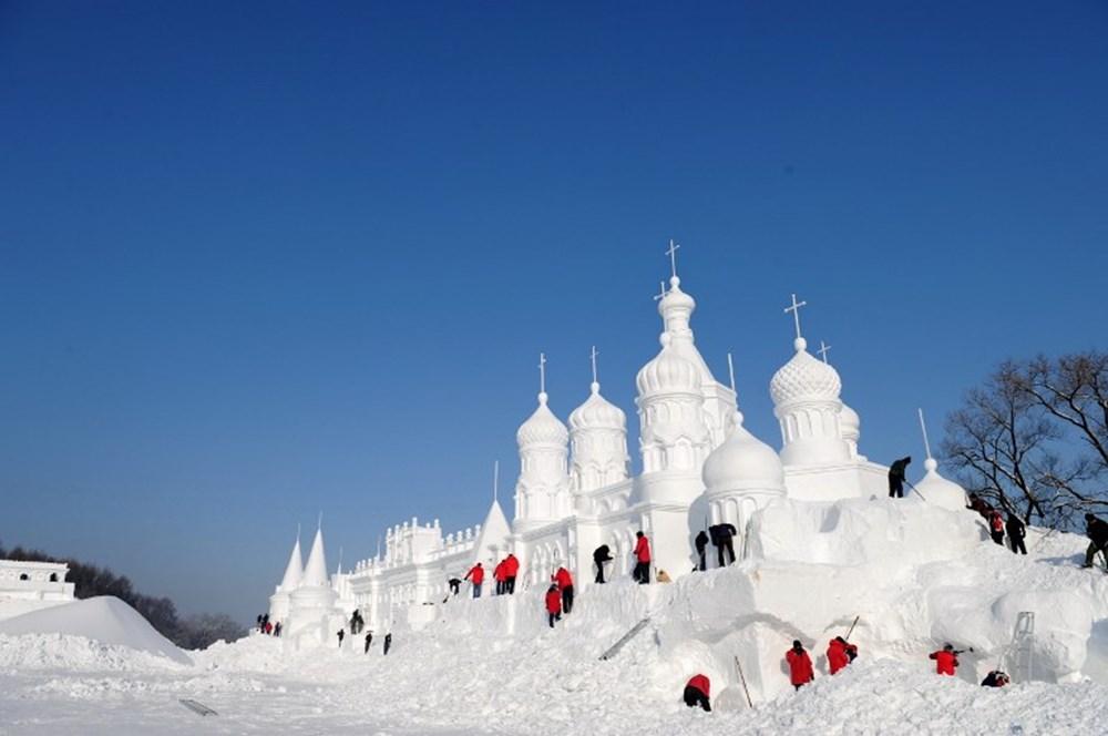 Снежные городки картинки