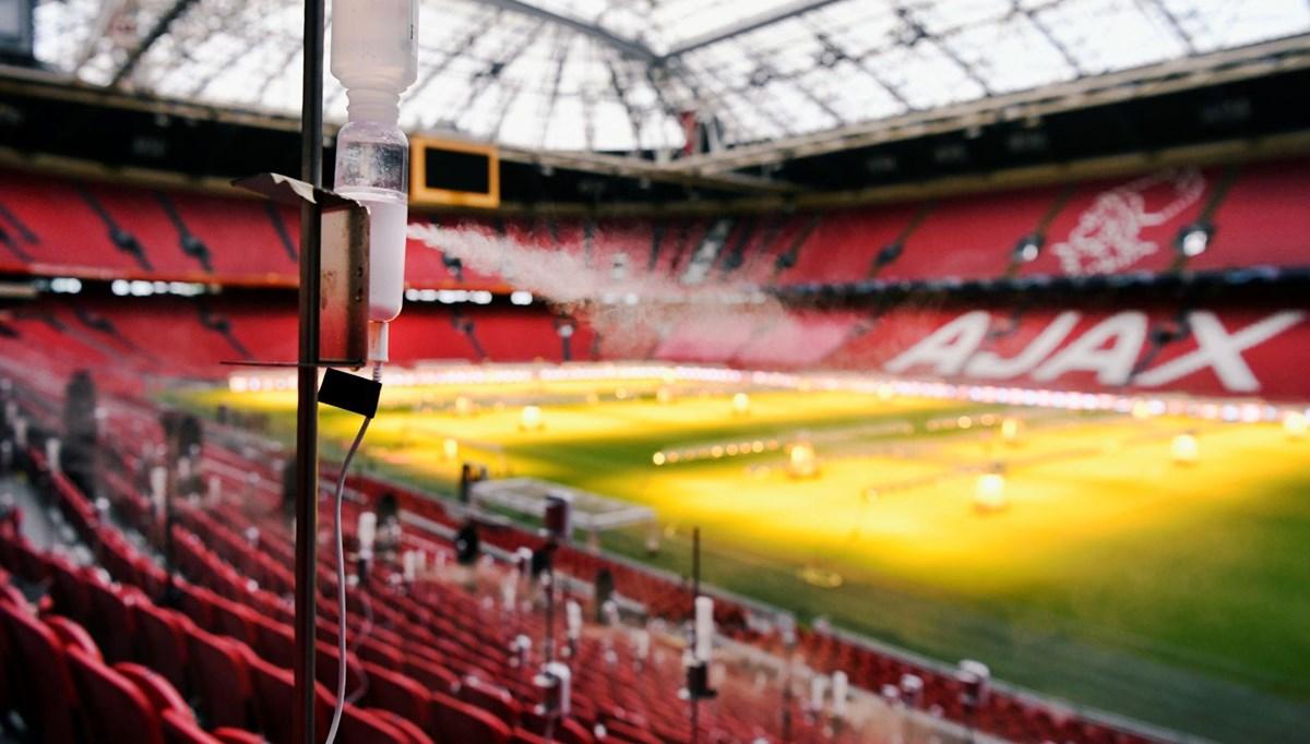 Hollanda'nın en büyük futbol stadyumunda corona virüs deneyi