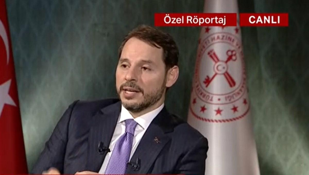SON DAKİKA HABERİ:Hazine ve Maliye Bakanı Berat Albayrak NTV'de