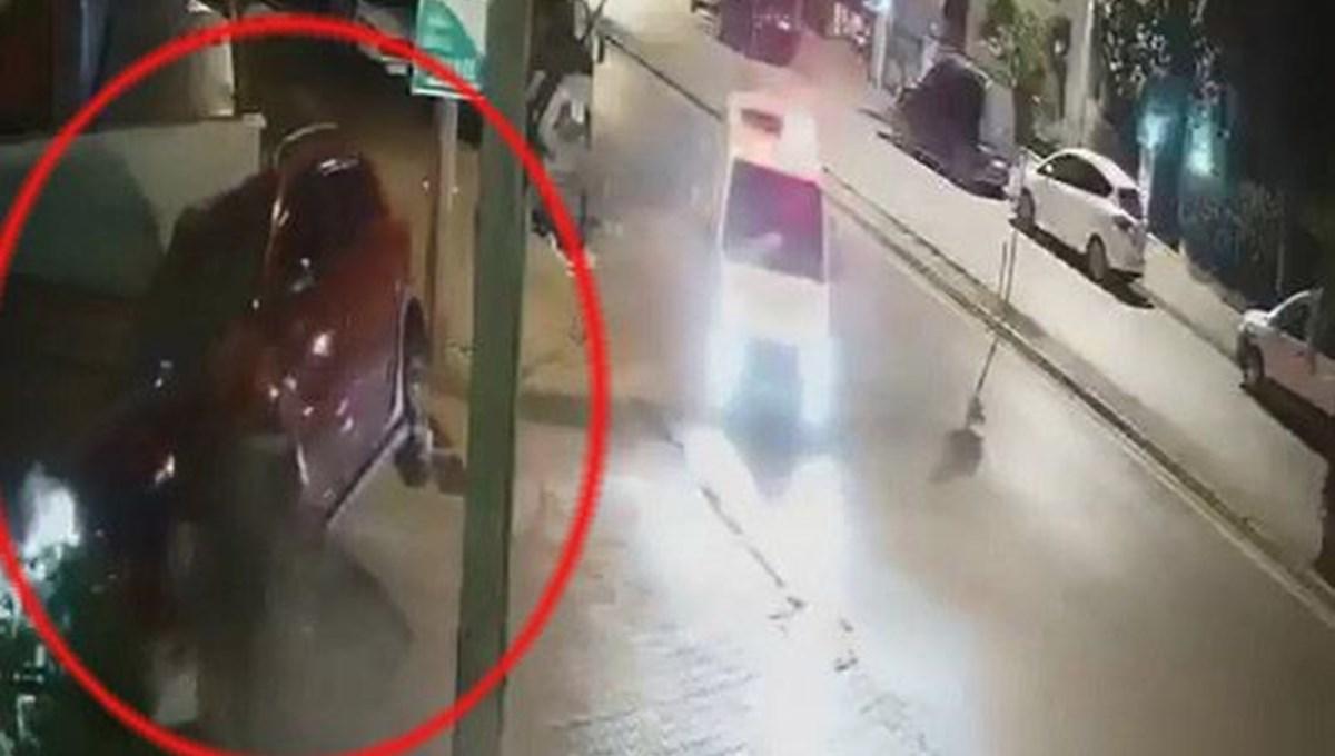 Polisten kaçarken duvara çarptı