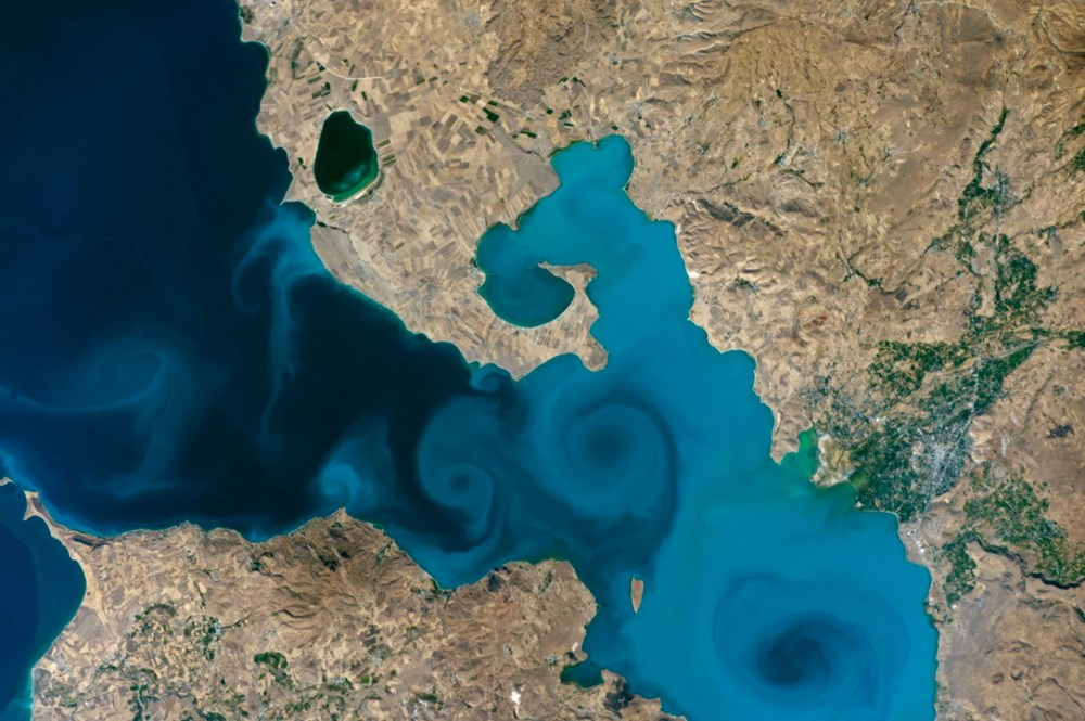 NASA'nın Van Gölü fotoğrafı finalde - 1