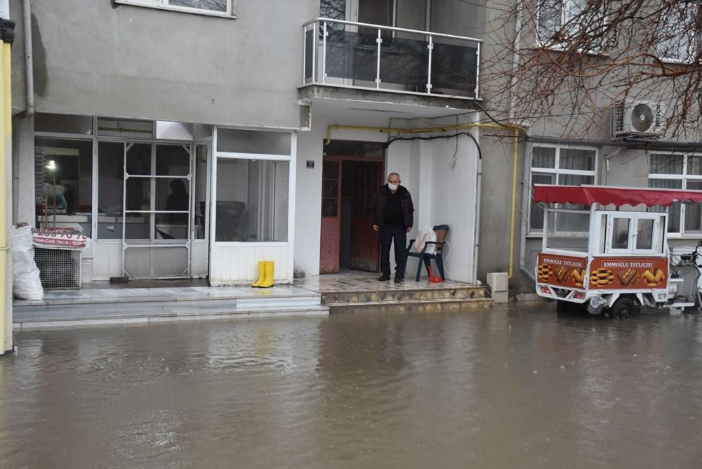 Edirne'de sağanak: Cadde ve sokaklar göle döndü - 3