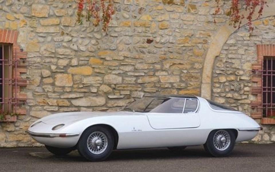 Chevrolet Testudo 1973 yılında Cenevre Otomobil Fuarı'nda tanıtılmıştı