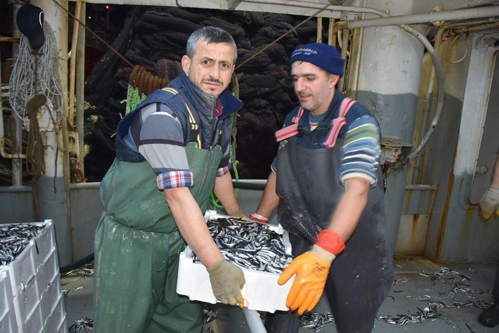 Balıkçılardan hamsi avının serbest olduğu İğneada'ya akın - 10