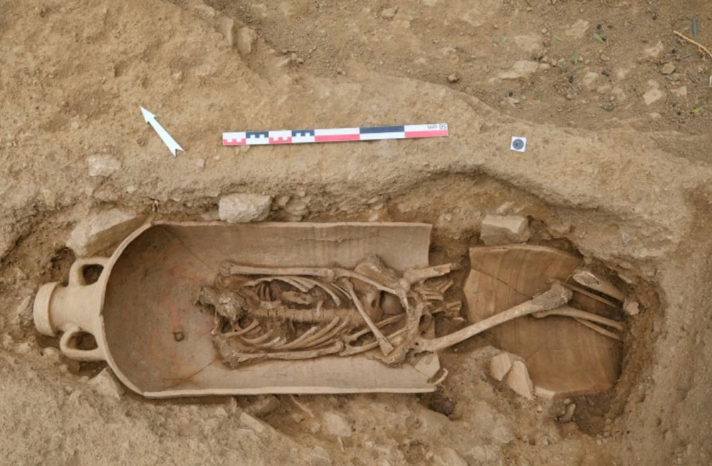 Fransız arkeologlar binlerce yıl öncesine ait 40 tabut keşfetti - 6