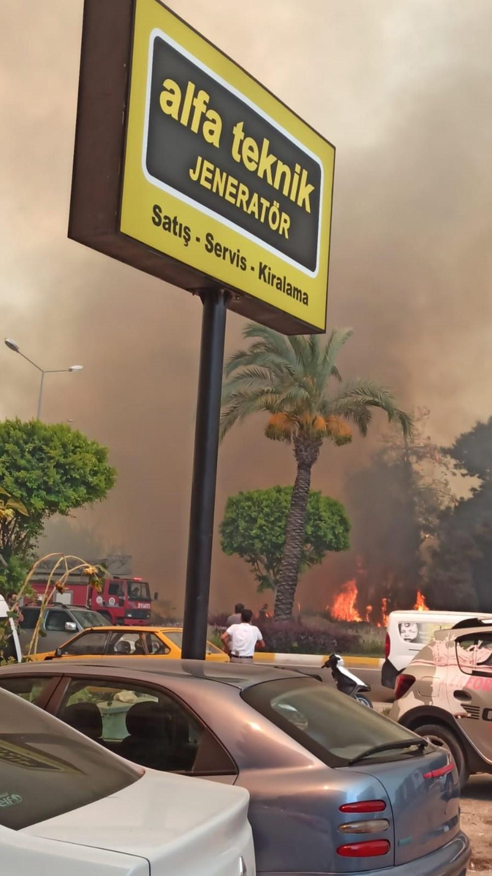 Antalya Manavgat'ta büyük orman yangını - 2