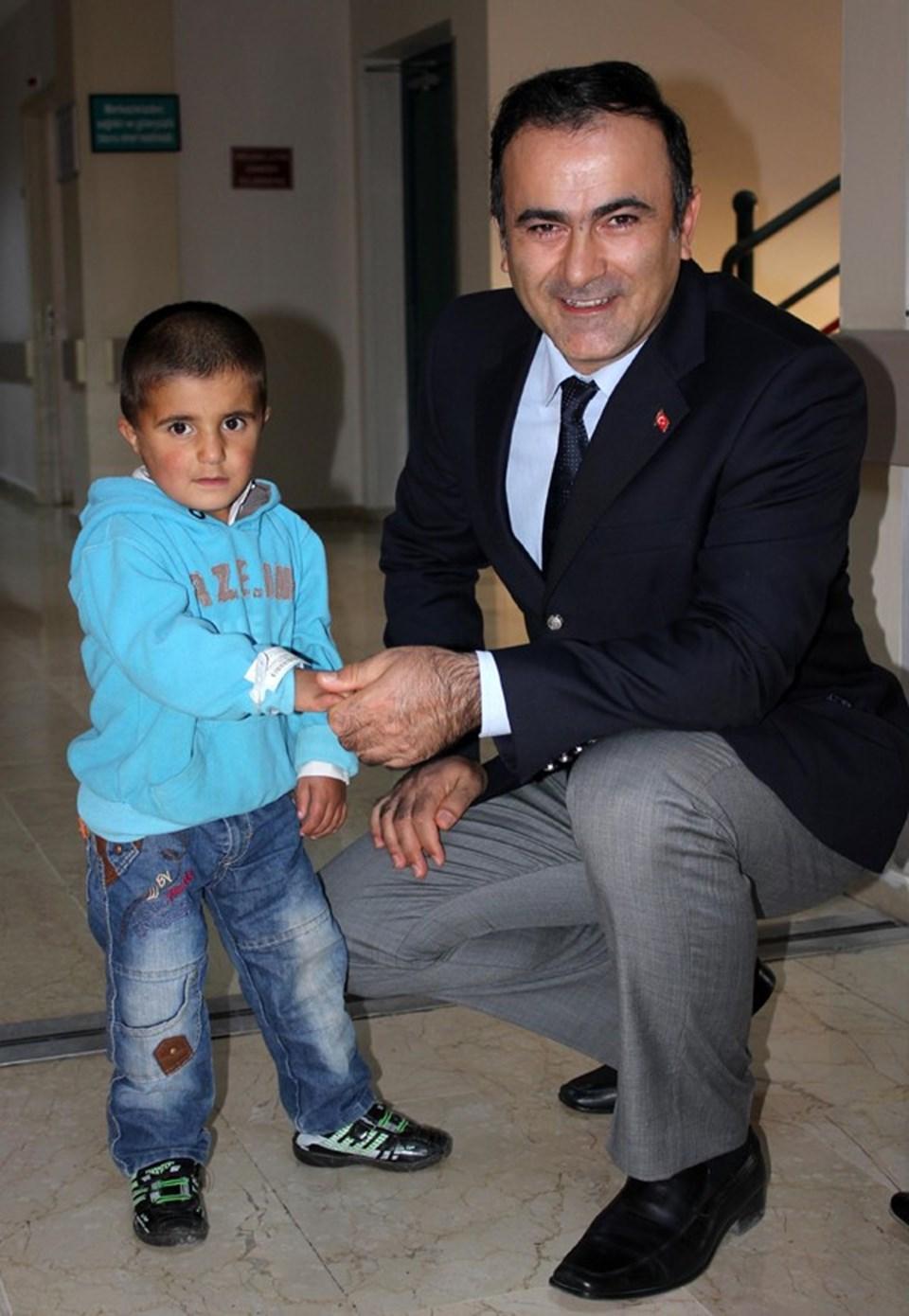 Prof. Dr. İsmail Yılmaz ve hastası Mustafa Cemşit