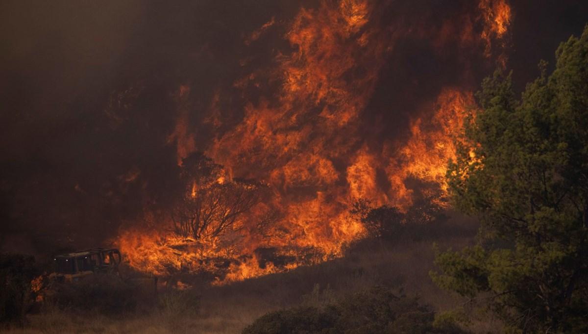 California yeniden yanıyor