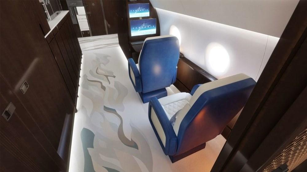 ABD Başkanları için hazırlanan süpersonik uçak 2030 yılında kullanıma hazır olacak - 4