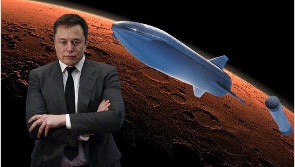 Elon Musk insanlı Mars görevi için tarih verdi - 1