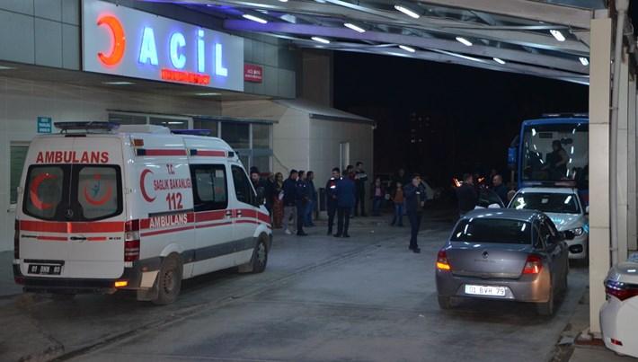 Adana'da 15 mahkum gıda zehirlenmesi şüphesiyle hastaneye kaldırıldı