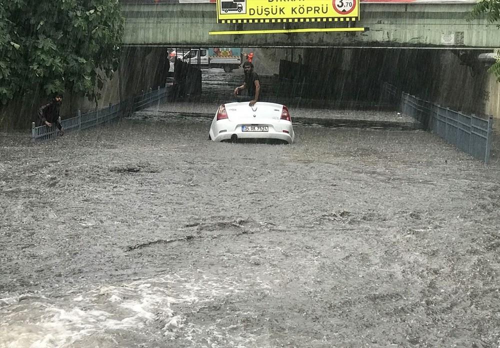 İstanbul'da şiddetli yağmur - 5