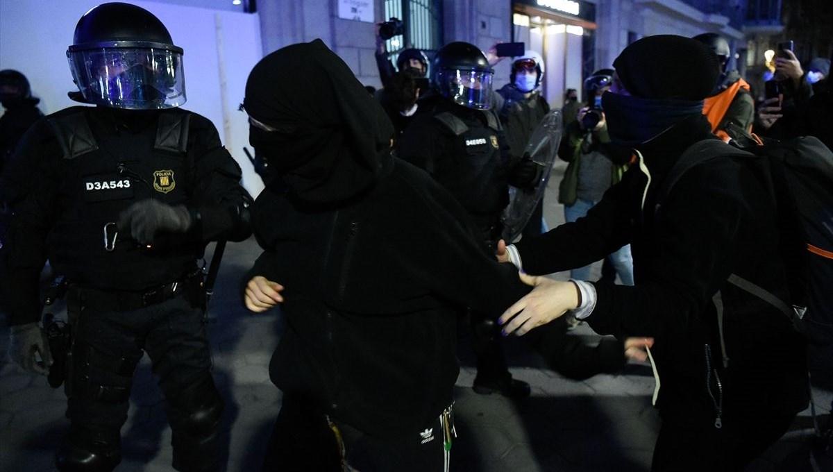 İspanya'da rapçi Hasel'in tutuklanmasının ardından başlayan olaylar beşinci gününde