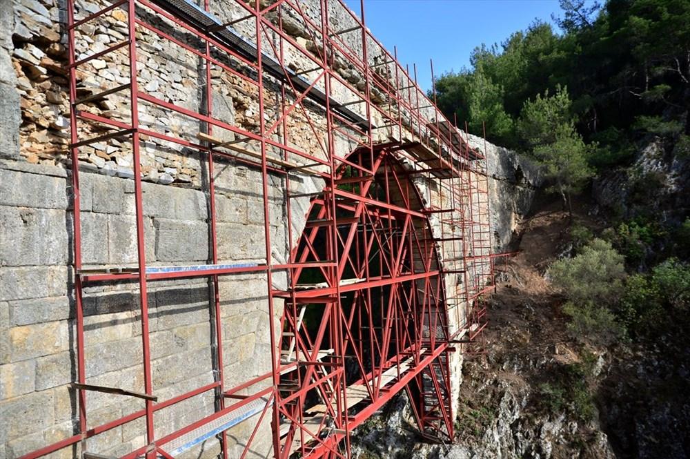 Troya'nın 3 bin 500 yıllık su kemeri restore ediliyor - 9
