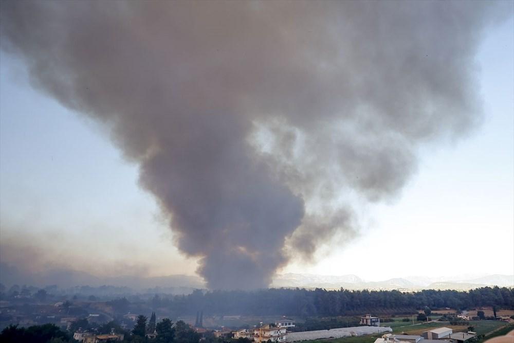 Antalya Manavgat'taki yangın kontrol altında - 2