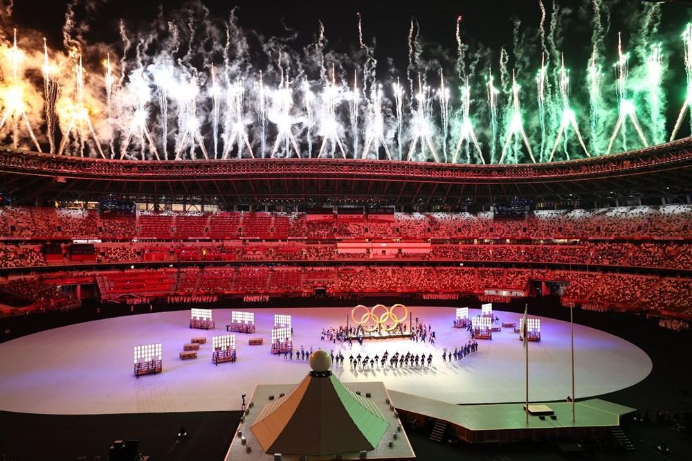 2020 Tokyo Olimpiyatları görkemli açılış töreniyle başladı - 30