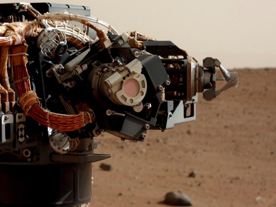 Curiosity'nin kamerası MastCam.