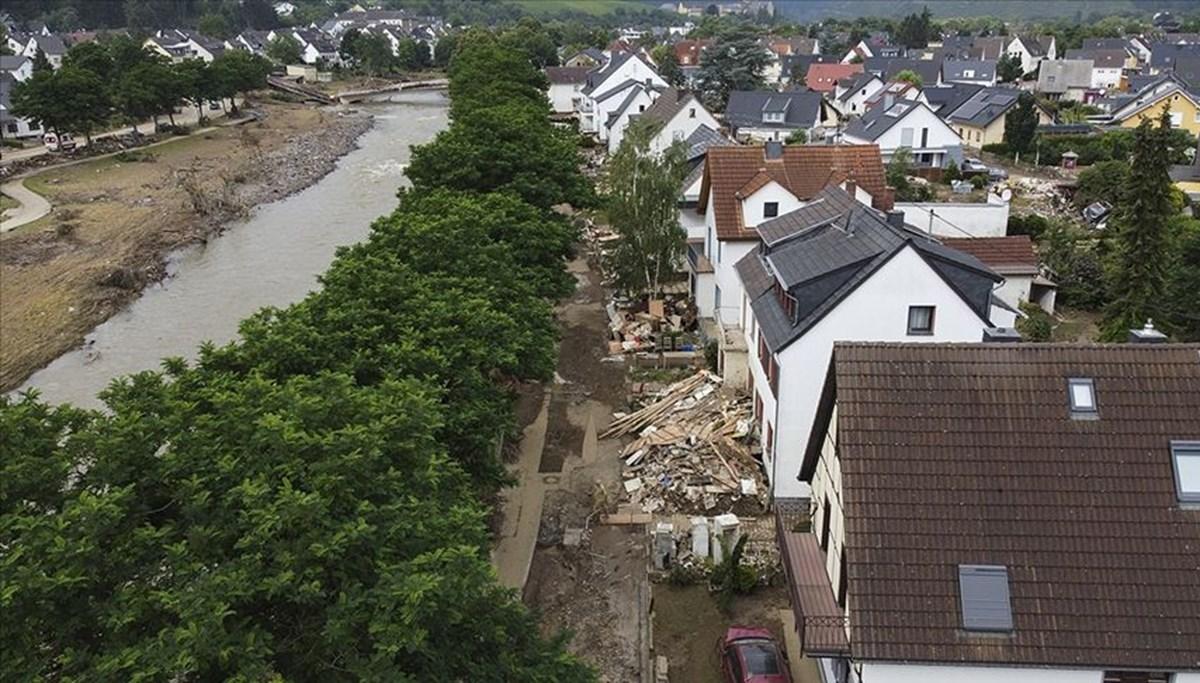 Almanya'da sel felaketinden etkilenen bölgelere acil yardım yapılacak