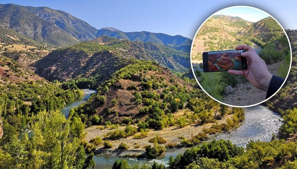 Amerika'nın ünlü Colorado Nehri'ne benzetiliyor: Tunceli'nin kartpostallık güzelliği Munzur Vadisi