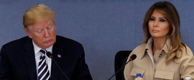 Melania trump and donald trump ile ilgili görsel sonucu