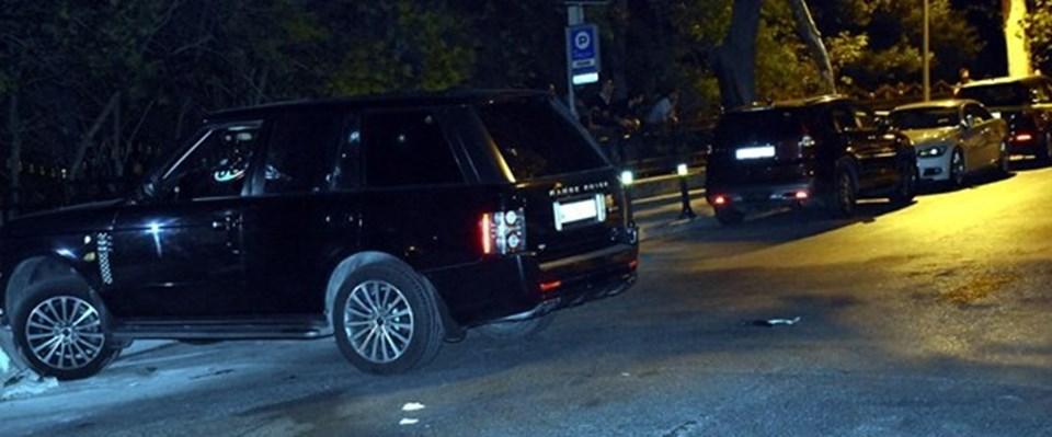 Lenkaranski, Beşiktaş'tabu araçtayken saldırıya uğradı