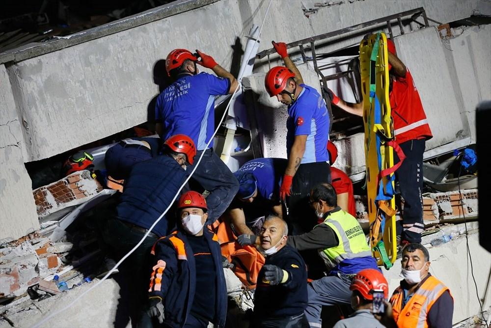 İzmir'de deprem sonrası enkaz altındakiler için zamana karşı yarış (58 saat sonra kurtarıldı) - 23