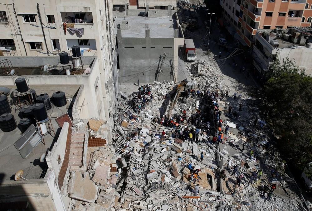 İsrail'in Gazze'ye saldırılarının bir haftalık bilançosu: 200 ölü, bin 307 yaralı - 11